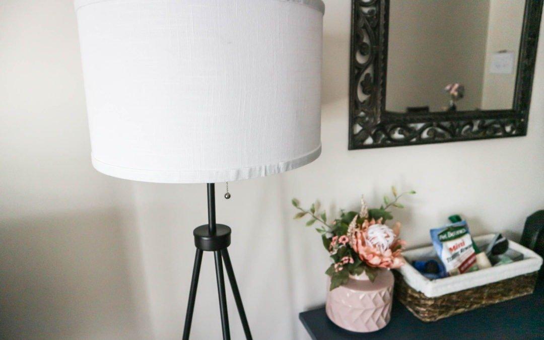 CHEAP TRENDY TRIPOD FLOOR LAMP