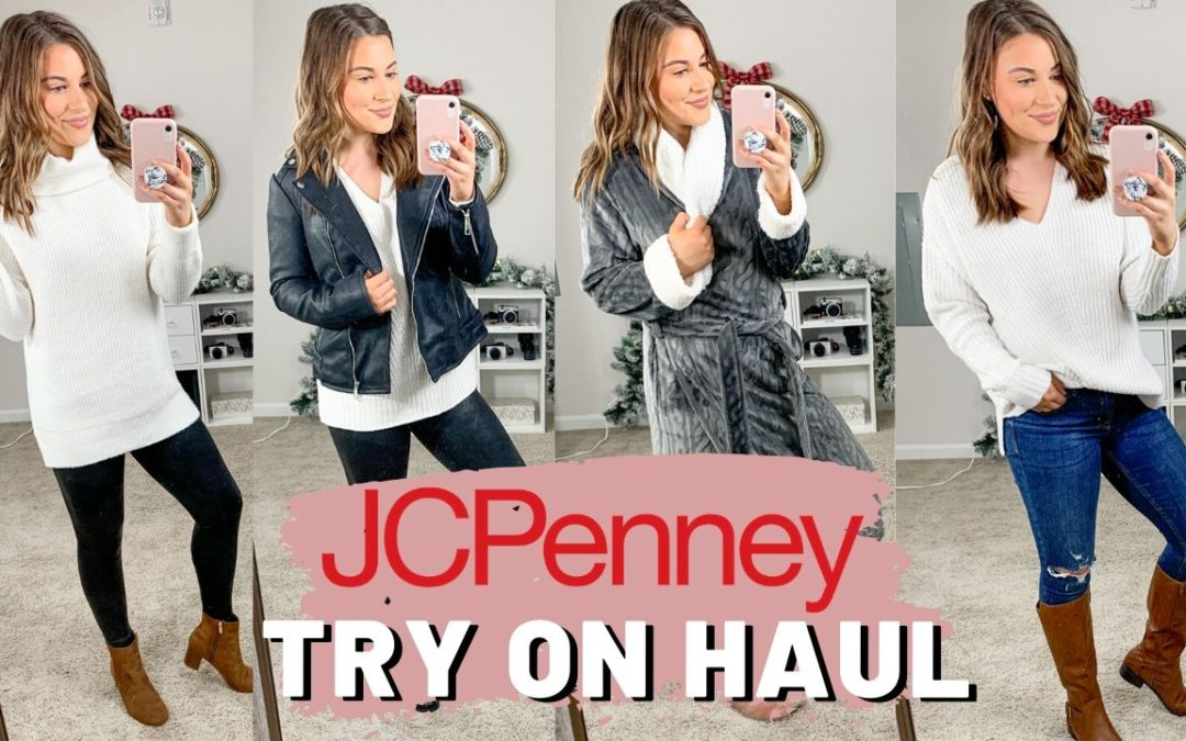 JC PENNEY WINTER TRY ON CLOTHING HAUL