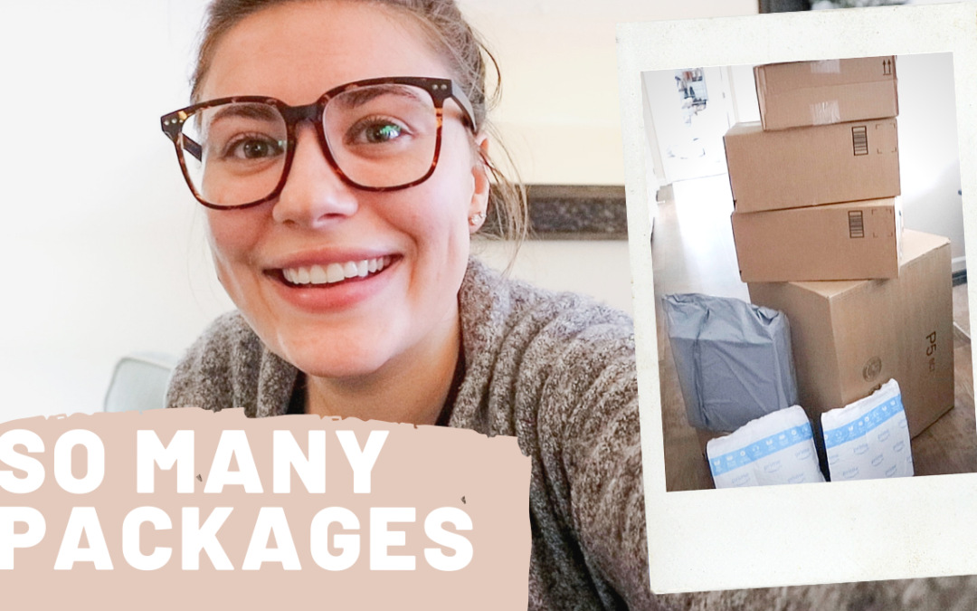 SO MANY PACKAGES & NEW GLASSES
