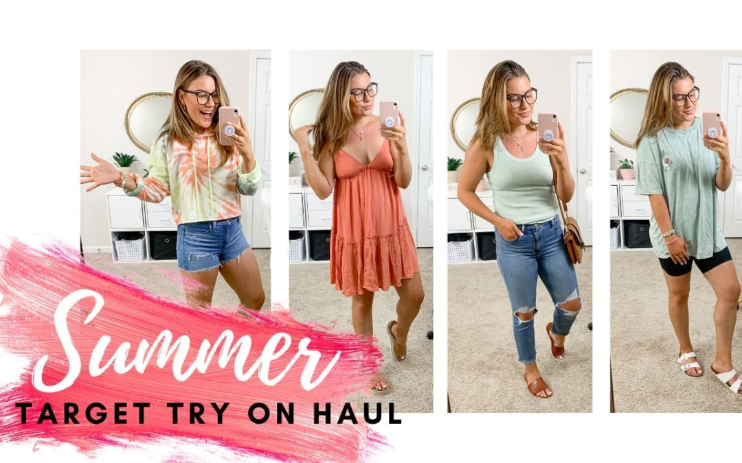 SUMMER TARGET FASHION HAUL 2020