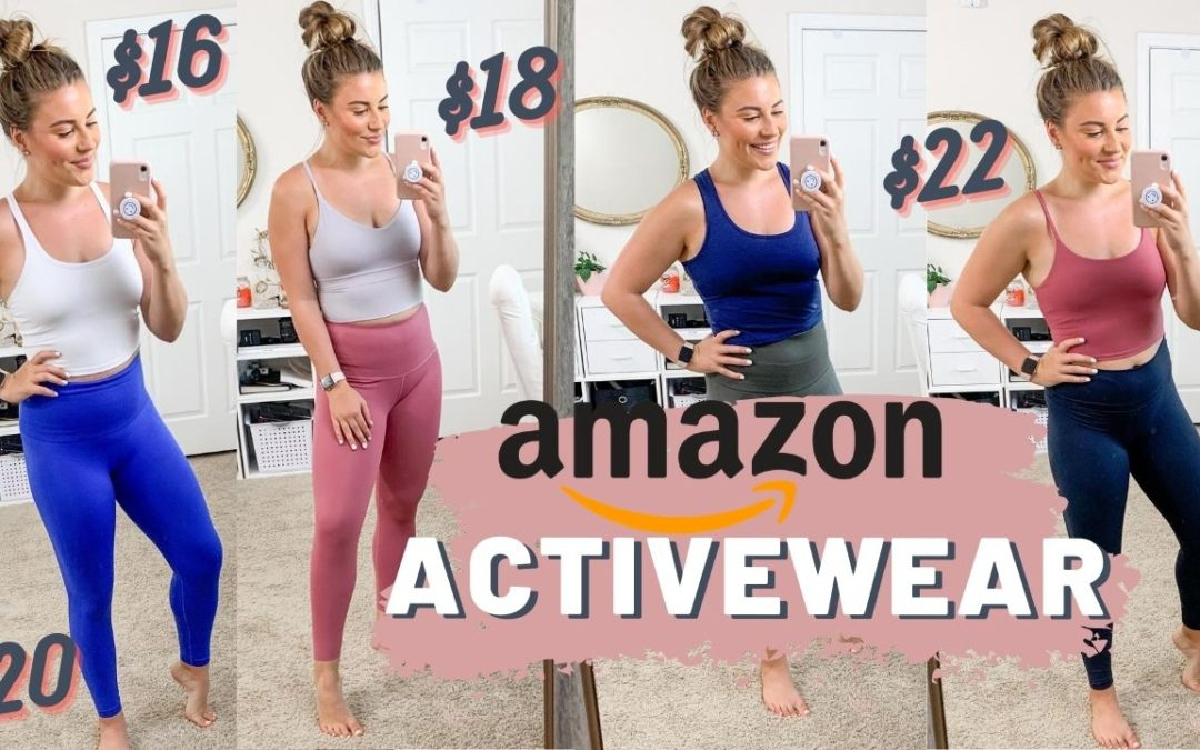 AMAZON TRY ON ACTIVE WEAR HAUL